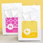 Personalized Sweet Shoppe Candy Boxes - MOD Pattern Baby (set of 12)