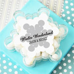 Personalized Snowflake Acrylic Favor Boxes