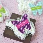 Personalized Butterfly Acrylic Favor Boxes