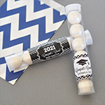 Personalized Graduation Candy Tubes
