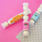 Personalized Birthday Candy Tubes