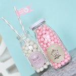 Vintage Baby Personalized Milk Bottles