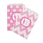 Going to Pop - Pink Chevron & Dots Goodie Bags (set of 12)