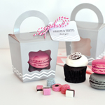 Cupcake 'n' Treats Tote Boxes (set of 12)