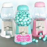 Mini Gumball Machine Place Card Holders