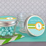 Personalized Going to Pop Blue Small 4 oz Mason Jars