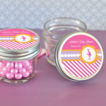 Personalized Going to Pop Pink Small 4 oz Mason Jars