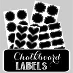 Vinyl Chalkboard Labels (set of 24)
