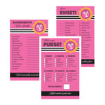 Bridal Shower Games (Set of 10) - Bachelorette Party