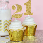 Glitter Numbers Stickers (Set of 24)