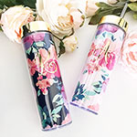 Personalized Floral Tumbler