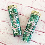 Personalized Palm Leaf Tall Tumbler
