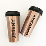 Personalized Men's Travel Coffee Tumbler