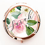 Personalized Spring Rose Compacts