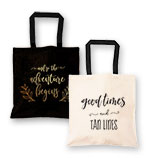 Theme Canvas Tote Bag