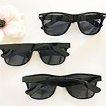 Blank All Black Sunglasses