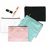 Blank Canvas Cosmetic Bags