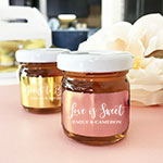 Personalized Foil Honey Jars