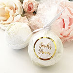 Custom Bath Bomb Foil Favors