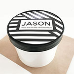 Personalized Round Gift Box - Groomsmen
