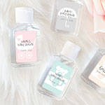 Personalized Baby Shower Hand Sanitizers