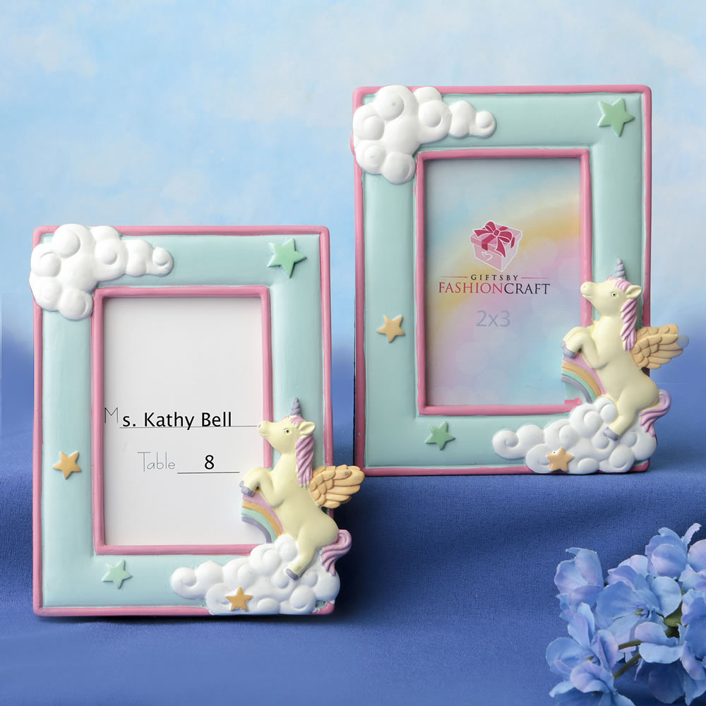 Unicorn 2 X 3 Placecard Frame Photo Frame Famous Favors