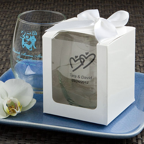 Personalized Stemless Wine Glasses Famous Favors