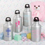 Personalized Metal Water Bottle Baby Shower Favors