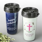 Personalized Double Wall Insulated Coffee Cup