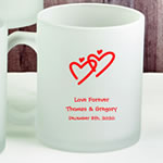 Design Your Own Personalized 11 oz Frosted Glass Coffee Mug
