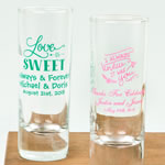 Personalized Expressions Collection 2 oz Shooter Glasses