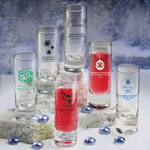 Personalized Fun 2 oz Shooter Glasses - Holiday Designs