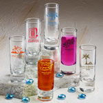 Personalized Fun 2 oz Shooter Glasses