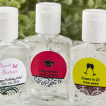 Personalized Expressions Hand Sanitizer Party Favors (30 ml Size)