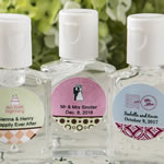 Personalized Expressions Hand Sanitizer Favors (30 ml Size)