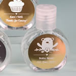 Personalized Metallics Hand Sanitizer Party Favors (62% Alcohol, 60 ml Size)