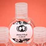 Personalized Expressions Hand Sanitizer Wedding Favors (62% Alcohol, 60 ml Size)