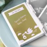 Personalized Metallic Collection Notebook Baby Shower Favors
