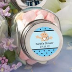 Personalized Glass Jar Baby Shower Favors