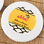 Personalized Compact Mirror - Tropical Design