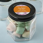Personalized Expressions Small Hex Jar Party Favors