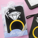 Diamond Ring Luggage Tag