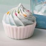Adorable Blue Cupcake Bath Fizzer