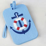 Nautical Luggage Tags - 2 Assorted