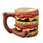 Cheeseburger Pipe Mug