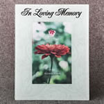Memorial Glass Picture Frame 4x6 - In Loving Memory