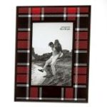 Buffalo Plaid Glass 4x6 Picture Frame