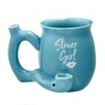 Stoner Girl Blue with White Imprint Mug - Roast and Toast Mug