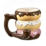 Donut Novelty Pipe Mug