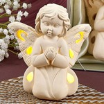 Angel Design Light Up LED Praying Angel Figurine